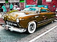 Vintage 50's Car