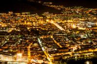 Night panorama of Bergen.