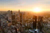 Frankfurt skyline in Germany