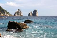 Capri Island - The Faraglioni Rocks