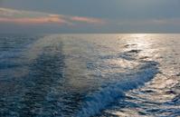 Wawe on the sea