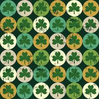 three leaf clover pattern