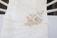 Wedding Dress Closeup Detail