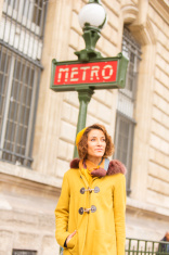 Paris Metro Woman