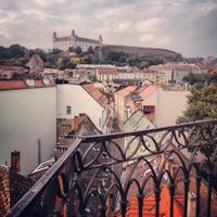 The Bratislava castle (Hrad)