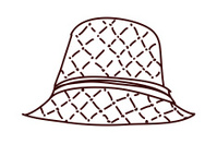 view of hat