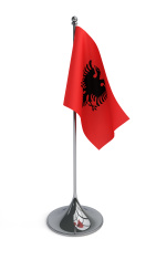Desktop flag of Albania