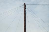 old technology, telephone pole