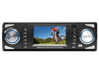 DVD-CD-MP3 car AV receiver (clipping path)