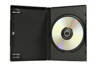 Blank DVD in case