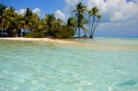 Blue Lagoon near Rangiroa, Tahiti, French Polynesia
