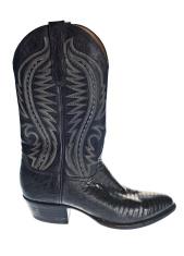 Black Cowboy Boot