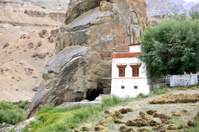 Buddhist monastery in the Himalayas