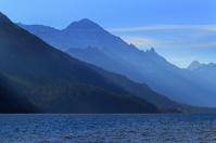 Layers of Haze in Waterton Lakes Natonal Park