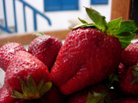 Strawberries in Greece