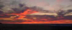 Beauty panoramic sky