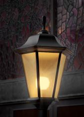 Shining street light