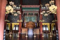 Injeongjeon (Main Hall) of Changdeokgung in Seoul, Korea