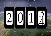 New year 2014 Odometer
