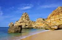 Algarve beach marinha
