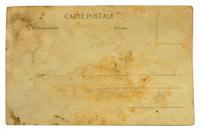 vintage very old postcard