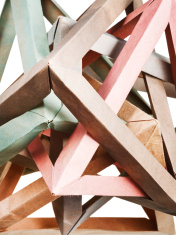 tangled knot of paper puzzle