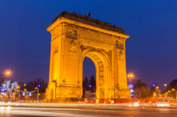 Arc of Triumph, Bucharest Romania