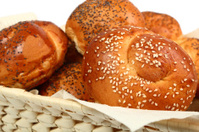 Bread Roll with Sesame and Poppy Seed