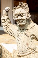 Mandarin statue