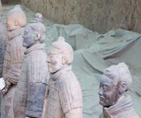 Qin dynasty Terracotta Army, Xian, China