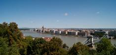 Sight of Budapest fron Citadella