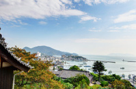 Landscape visible from Ioji Temple