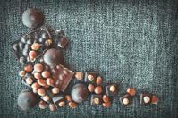 Handmade Chiocolate with hazelnut