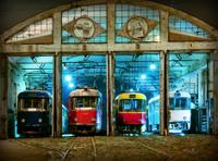 Soviet tram
