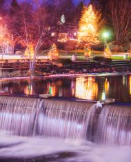 Chagrin Falls in Ohio