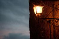 Un vecchio lampione