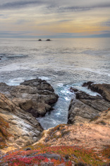 Early Dusk at Garrapata State Park