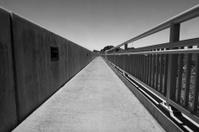 Pedestrian Bridge Abstract