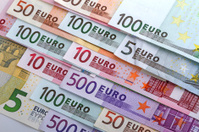 Numbers on the euro banknotes