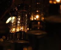 Lanterns at the christmas market, Goslar, Germany