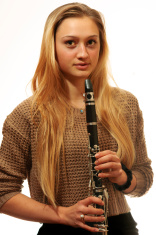 Girl with a Clarinet