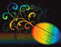 Rainbow Oval