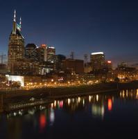 Nashville Night Cityscape