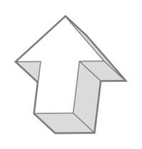 view of arrow