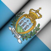 Iconic Flag of San Marino