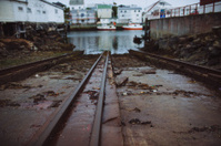 Boat Train Rails - Lofoten, Norway