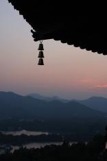 sunset of Pagoda