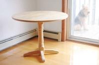 Table.  Dog Outside