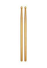 Pair of wooden drumsticks