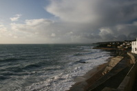 Porthleven stormy seas